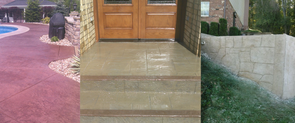 Stamped & Decorative Concrete Overlays